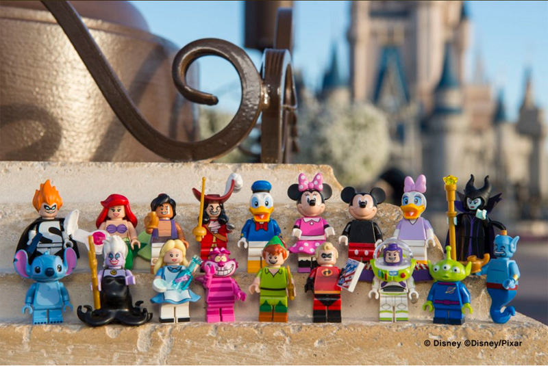 Lego Disney Series Minifigures