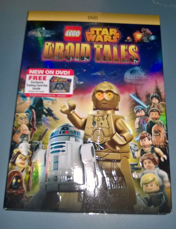 Lego Droid Tales DVD