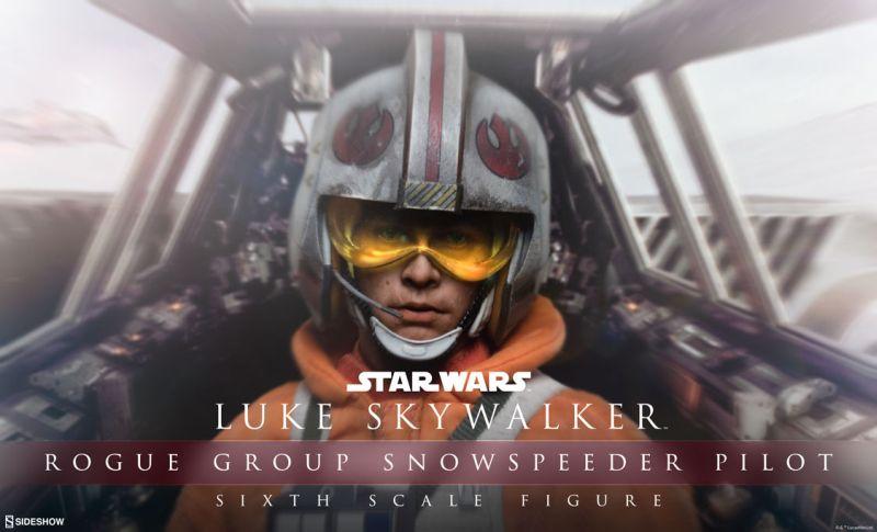 Sideshow Luke Snowspeeder Preview
