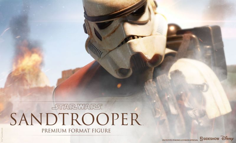 Sideshow PF Sandtrooper Preview
