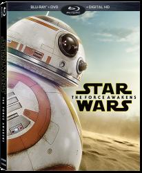 Walmart BB-8 The Force Awakens Bluray Packaging