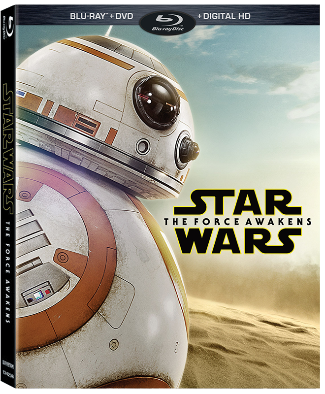 Walmart BB-8 The Force Awakens Bluray Packaging