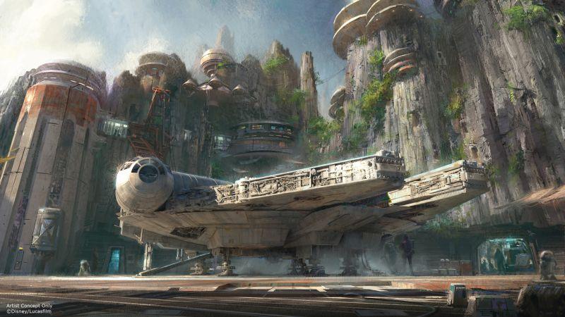 Disney Star Wars Land Concept Art