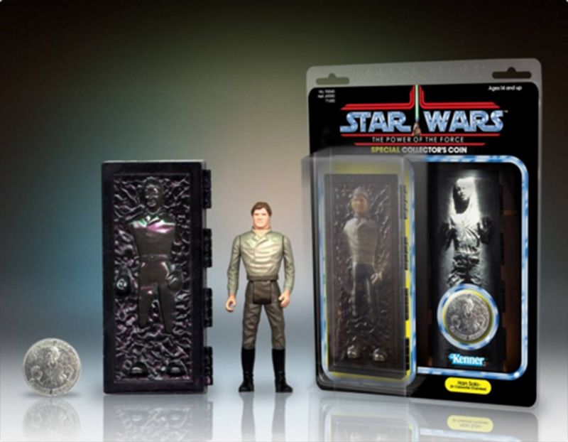 Gentle Giant Han Solo Carbonite Jumbo