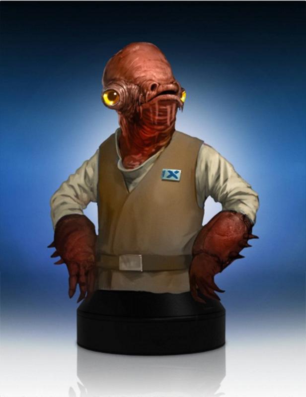 Gentle Giant TFA Admiral Ackbar Mini Bust