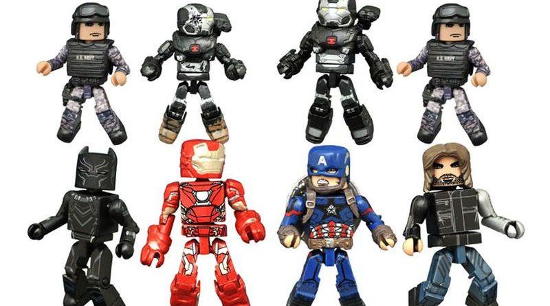 DST Captain America Minimates