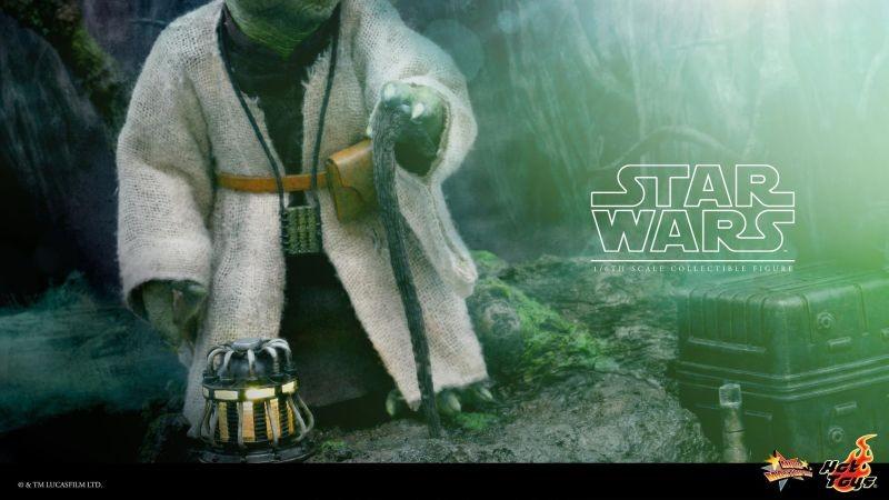 Hot Toys TESB Yoda