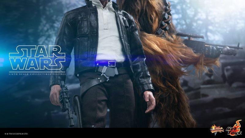 Hot Toys TFA Han Solo Chewbacca