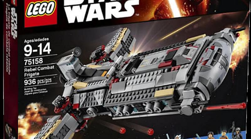 Lego 75158 rebel combat frigate box