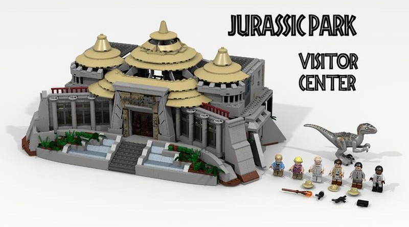 Lego Ideas Jurassic Park Visitor Center