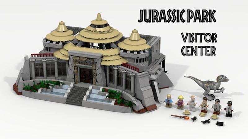 Lego announces first 2016 ideas review imperial holocron - Jurasic park lego ...