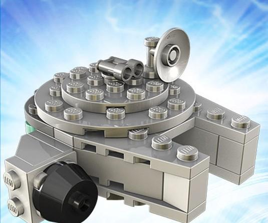 Lego TRU Millennium Falcon May 4 2016