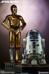 Sideshow Legendary Scale R2-D2 C-3PO