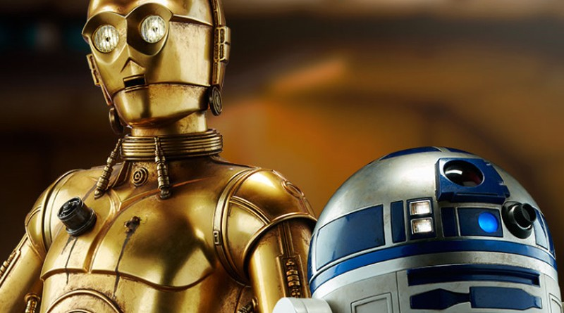 Sideshow Legendary Scale R2-D2 C-3PO Banner