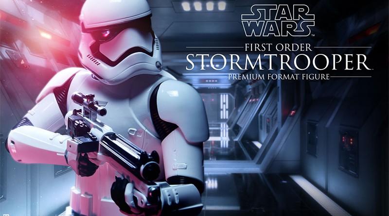Sideshow PF First Order Stormtrooper Teaser