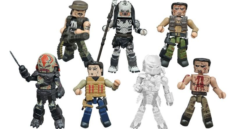 Diamond Select Toys Predator Minimates Series 2