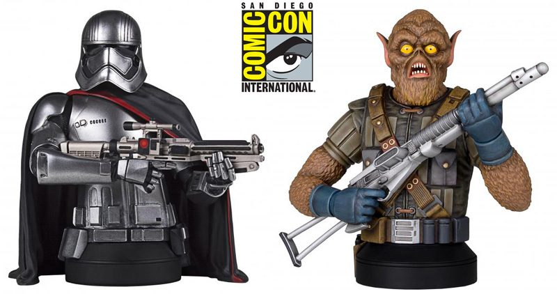 Gentle Giant SDCC Phasma Chewbacca