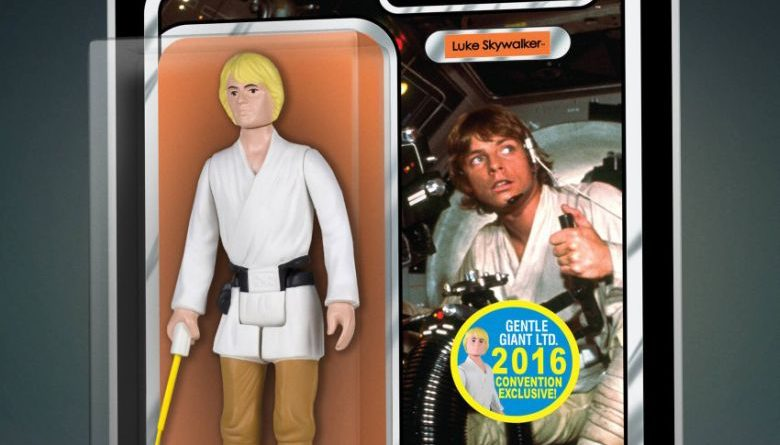 Gentle Giant Yellow Luke Jumbo Carded SDCC
