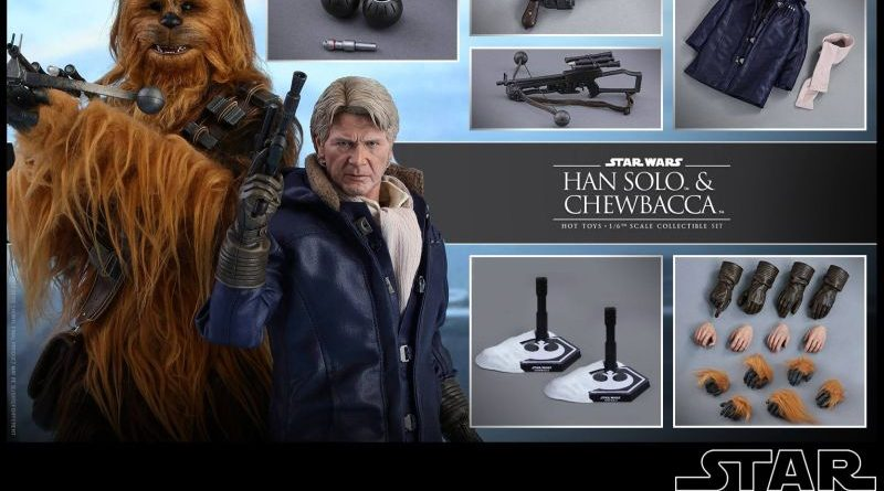 Hot Toys Han Chewbacca 2-pack