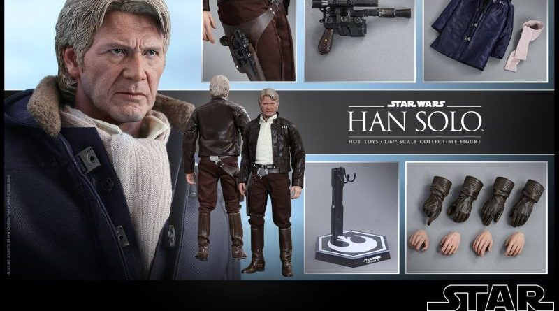 Hot Toys Han Solo Accessories