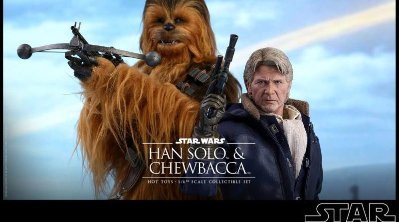Hot Toys Han Solo Chewbacca The Force Awakens