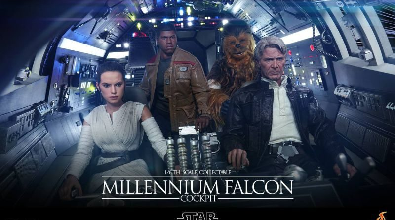 Hot Toys Millennium Falcon Cockpit