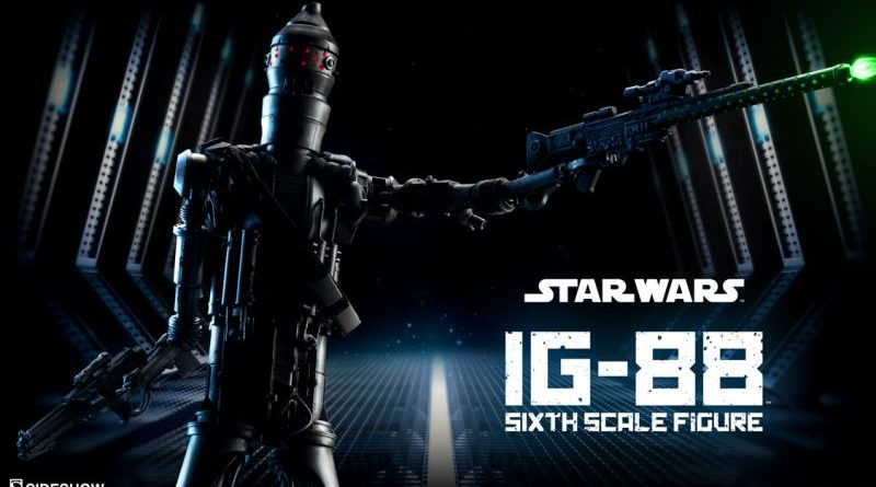 Sideshow IG-88 2016 Preview