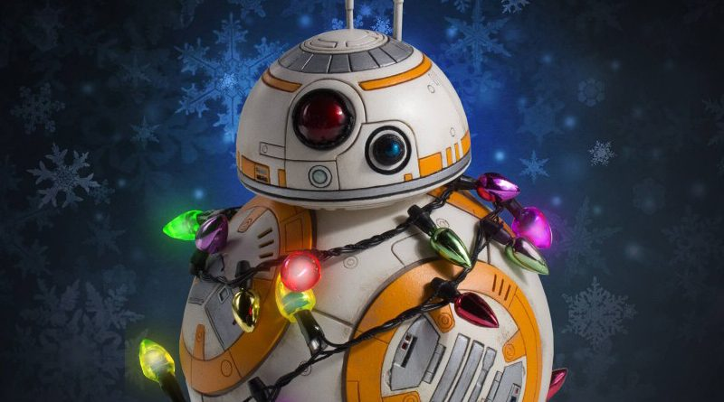 Gentle Giant Holiday BB-8 Header