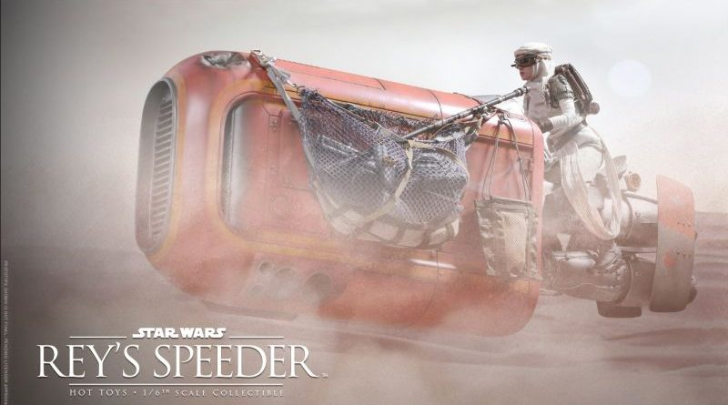 Hot Toys Rey Speeder Preview