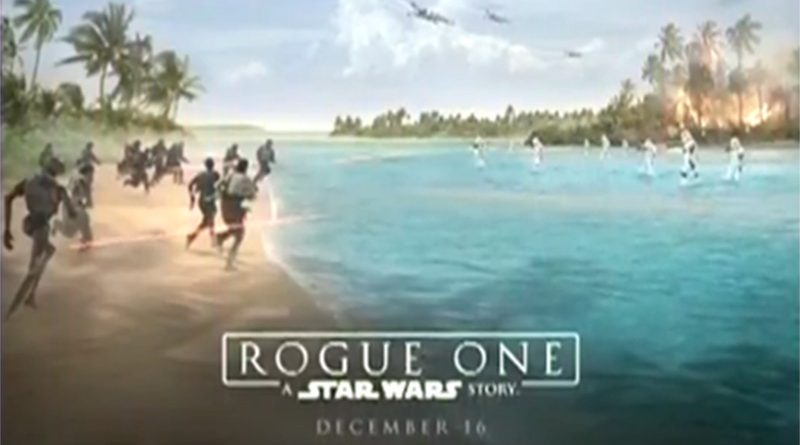 Rogue One Movie Poster header