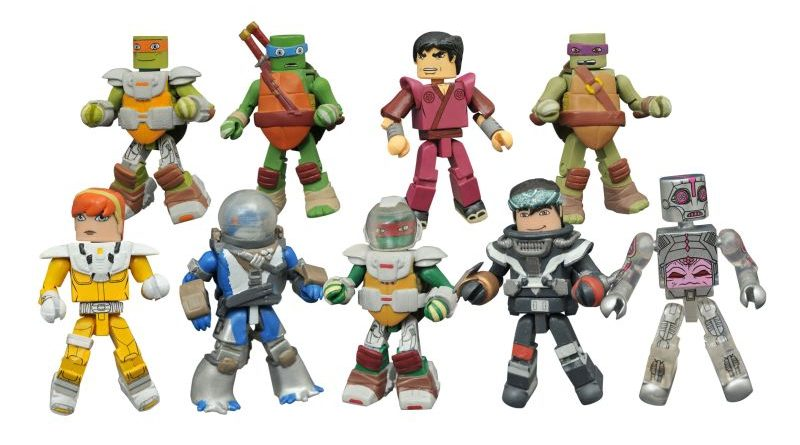 Diamond Select Toys Minimates Series 5 Teenage Mutant Ninja Turtles