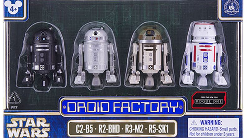 Disney Rogue One Droid Factory