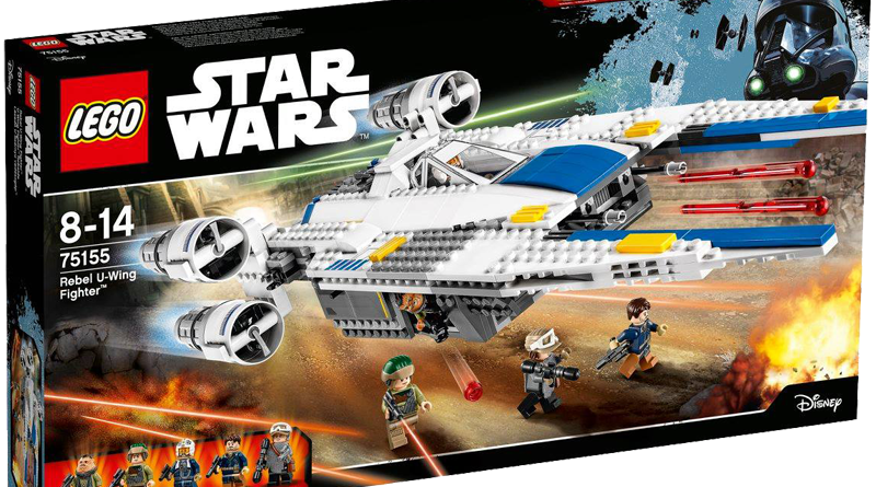 Lego 75155 Rebel U-Wing Fighter Boxed
