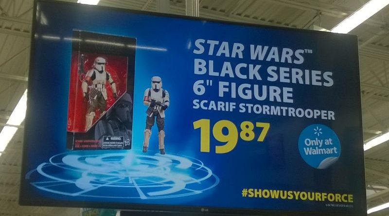 Walmart Scarif Stormtrooper Advertisement
