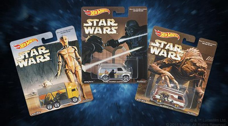 Hot Wheels McQuarrie Pop Culture Banner
