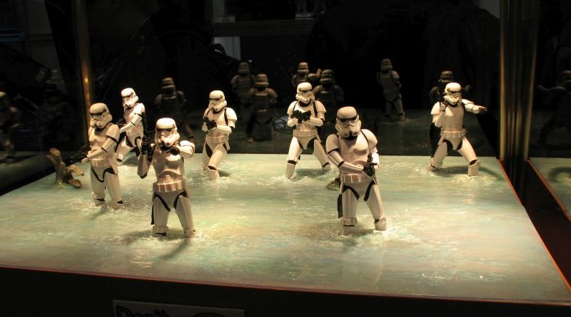 Kotobukiya Rogue One Stormtrooper Display