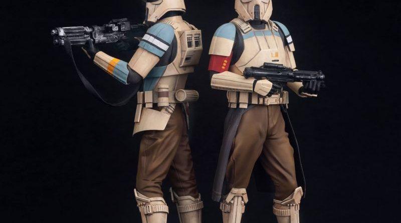 Kotobukiya ARTFX Scarif Trooper 2-pack