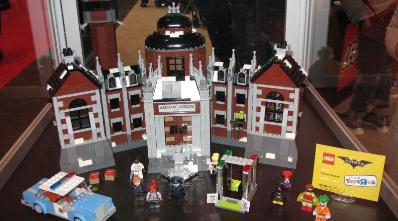 Lego Arkham Asylum New York Comic Con 2016