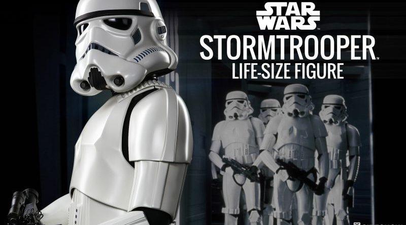 Sideshow Life-Size Stormtrooper Teaser