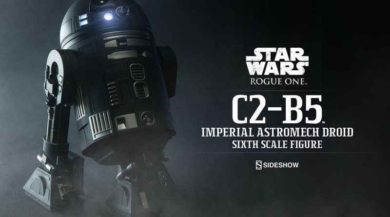 Sideshow Rogue One C2-B5 Banner