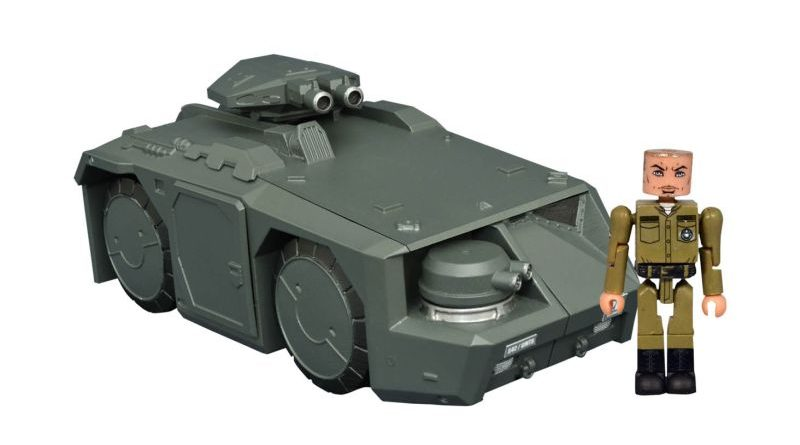 DST Minimates Aliens APC Vehicle