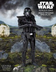 Gentle Giant Death Trooper Specialist Statue