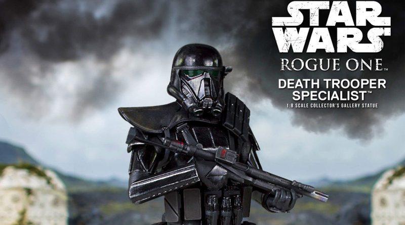 Gentle Giant Death Trooper Specialist Statue Banner