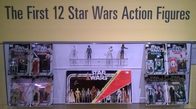 Strong Museum Star Wars Figures Banner