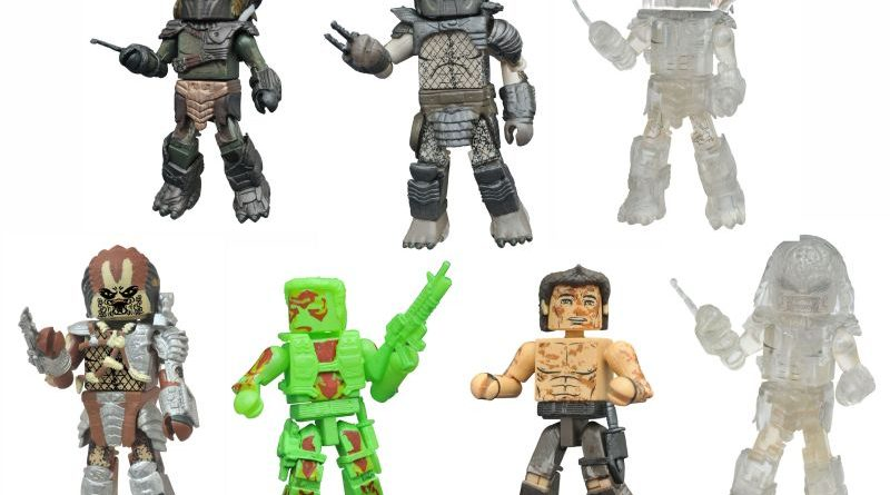 Diamond Select Toys Predator Series 3 Minimates