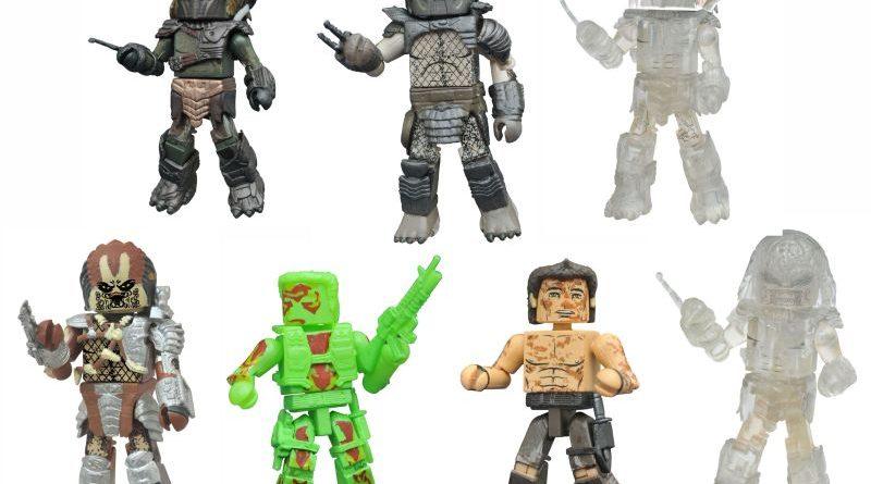 Diamond Select Toys Predator Series 3 Minimates