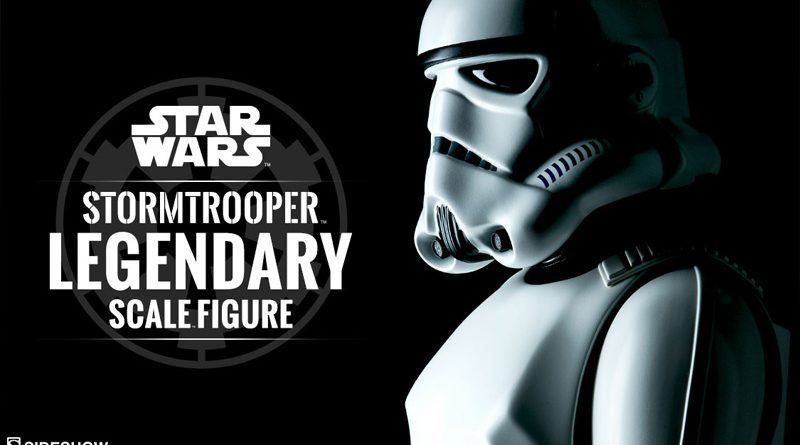 Sideshow Legendary Scale ANH Stormtrooper Teaser