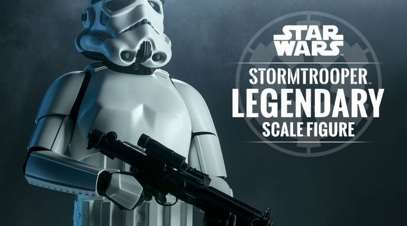 Sideshow Legendary Scale Stormtrooper Banner