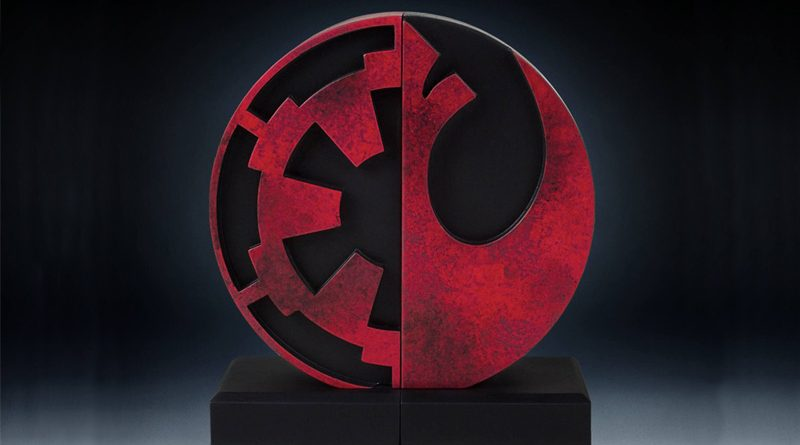Gentle Giant Imperial Rebel Bookends Banner