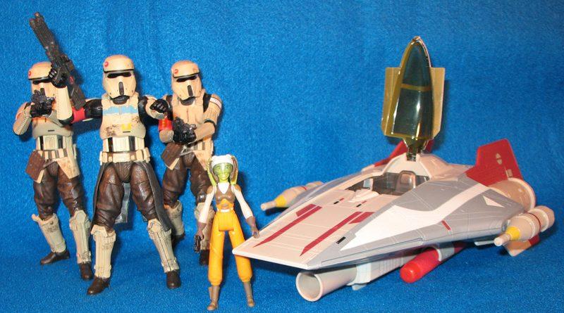 Hasbro Scarif Troopers Hera A-Wing